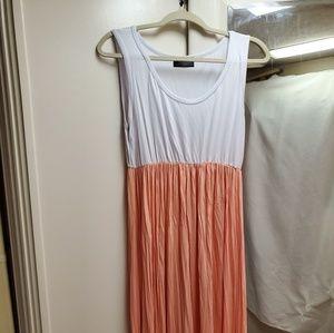 Comfy Peach Maternity Dress Size L